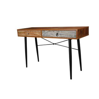 Urban Port Antiqued 2-drawer Table