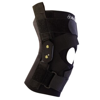 McDavid Classic Black Level 3 Knee Brace with Polycentric Hinges and Cross Straps