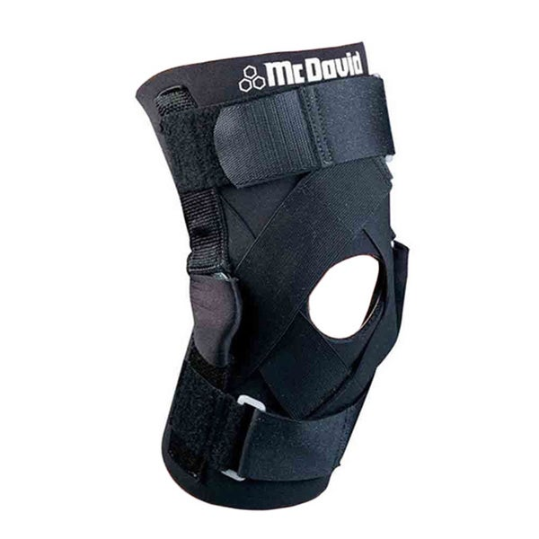 265e8a07df Shop McDavid Unisex Classic Level 3 Neoprene and Hook and Loop Knee Brace  With Hyper-extension Hinges and Straps - Free Shipping On Orders Over $45  ...