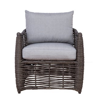 Somette Amalfi Wicker Chair (Set of 2)