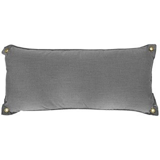 Pawleys Island Hatteras Grey Sunbrella All-weather Hammock Pillow