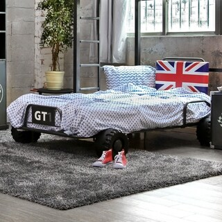 Furniture of America UK Born Racer Metal Youth Bed