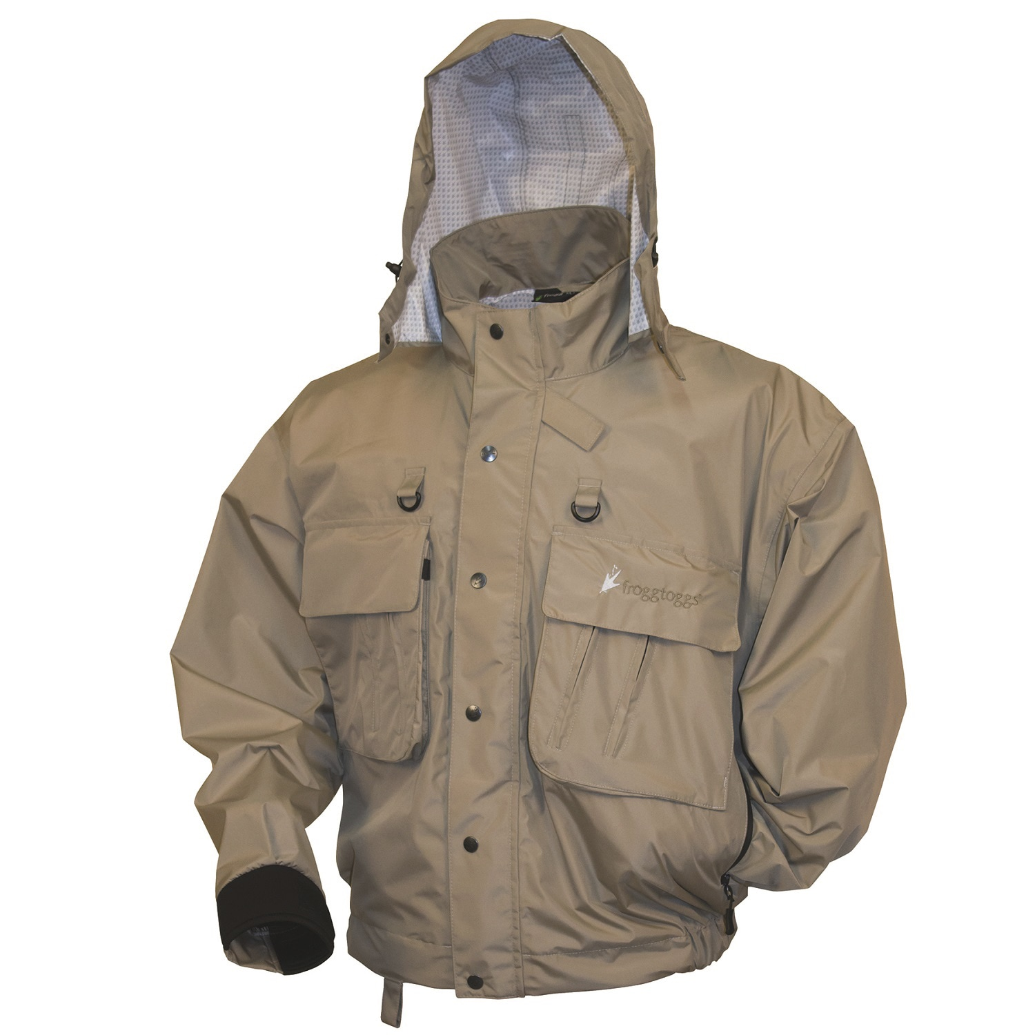 Frogg Toggs Hellbender Stone (Grey) Fly and Wading Jacket...