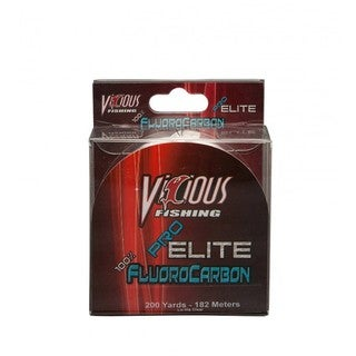 Vicious Fishing Pro Elite 200-yard Flourocarbon Line