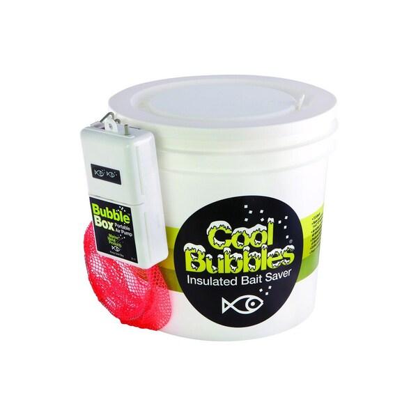 Marine Metal/Plastic Cool Bubbles 8-quart Insulated Pump
