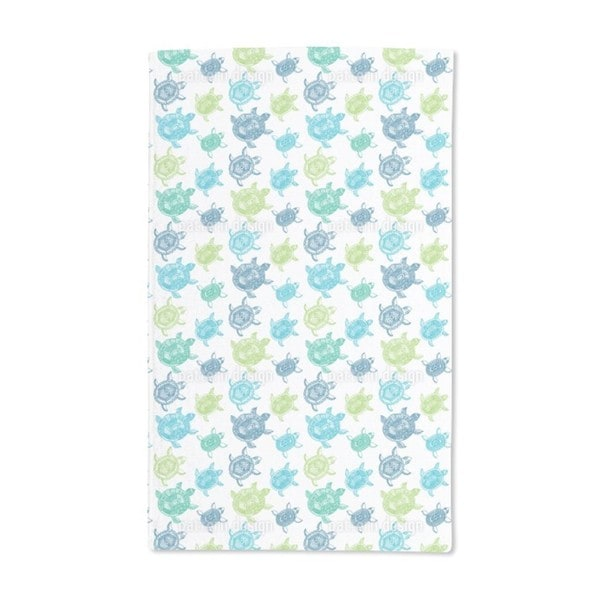 The Fantastic Journey of the Sea Turtles Hand Towel (Set of 2)