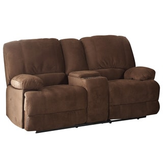 Kevin Brown Reclining Loveseat with Console