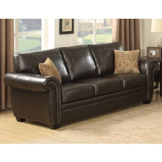 Leather Contemporary Sofas Couches Loveseats Shop The Best - Contemporary leather furniture