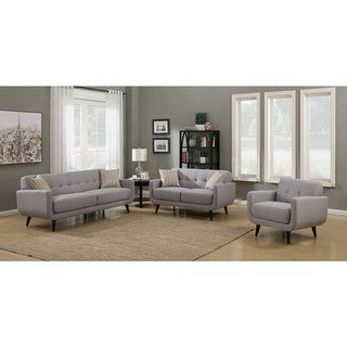 Link to Crystal Grey 3-Piece Living Room Sofa Set Similar Items in Living Room Furniture