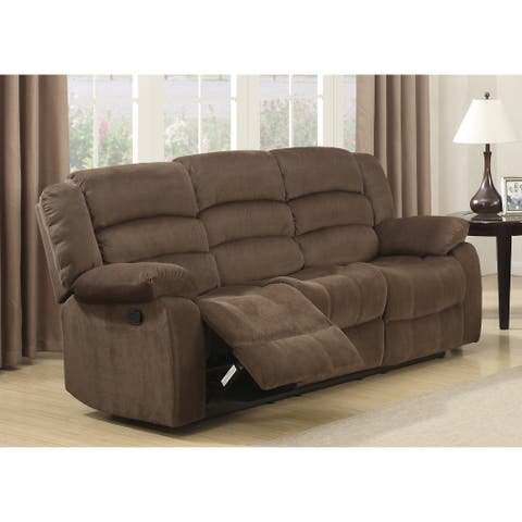 Copper Grove Shademill Brown Living Room Reclining Sofa