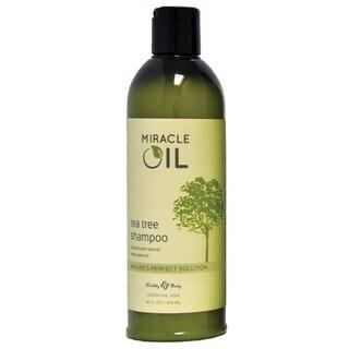 Earthly Body Miracle Oil Tea Tree 16-ounce Shampoo