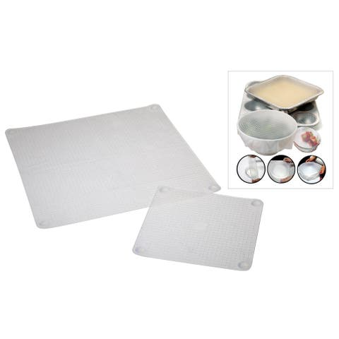 Norpro 529 Sili-Stretch Bowl Cover Set 2-count