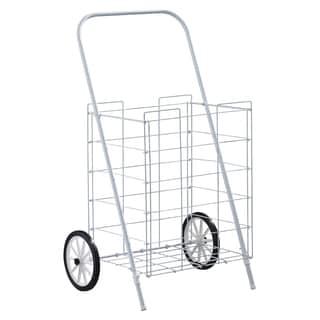 Homz 4670004 2 Wheel Medium Capacity Tote Cart
