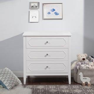 DaVinci Poppy Regency White Wood 3-drawer Changer