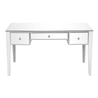 Elegant Lighting Chamberlan Rectangle Desk with 3 Drawers