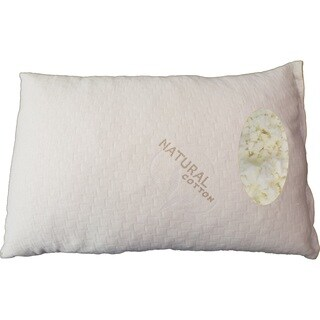 Somette Shredded King-size Latex Pillow with Natural Cotton Cover (Set of 1 or 2)