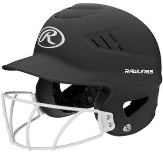 Rawlings Coolflo Highlighter Softball Helmet/Face Guard (2 options available)