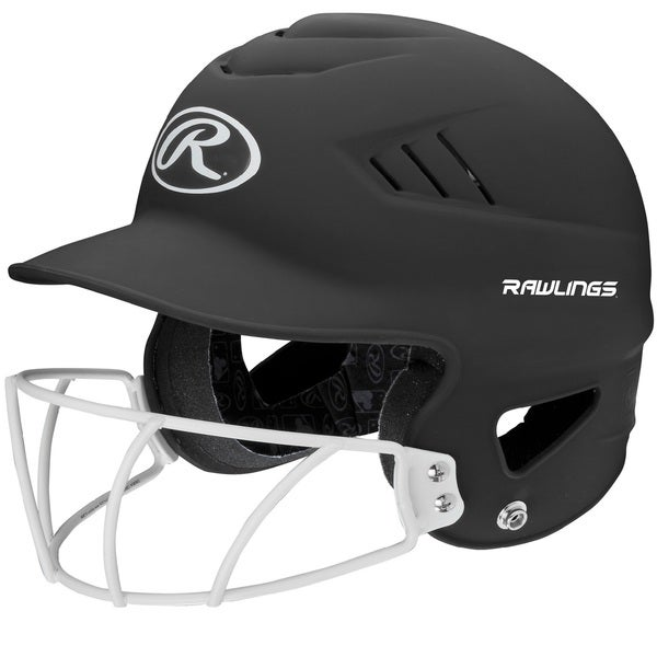 Rawlings Coolflo Highlighter Softball Helmet/Face Guard