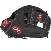 Rawlings Heart of the Hide Pro I Women's Black Leather Left-handed Softball Glove