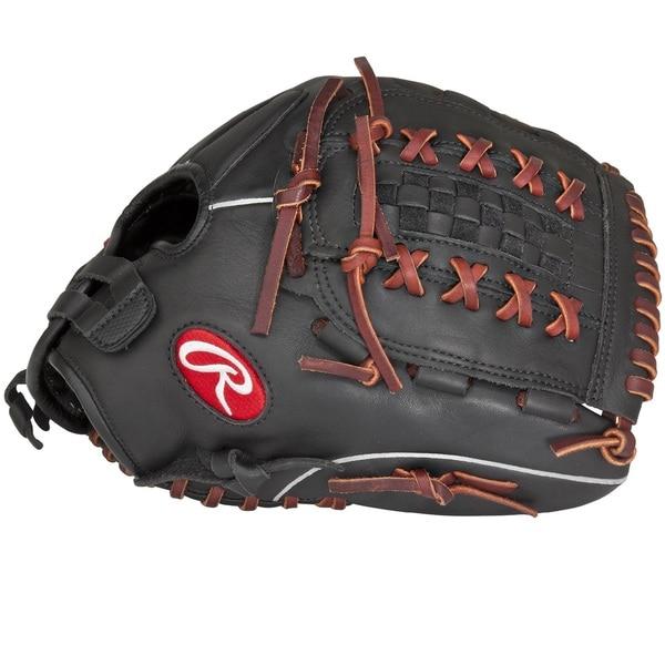 Rawlings Gamer Black Leather Softball Glove