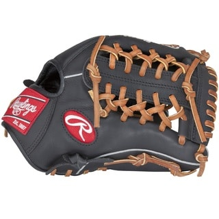 Rawlings Gamer Series Black Leather Baseball Glove