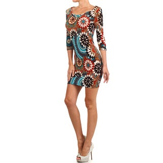 Women's Body-con Mandala Dress