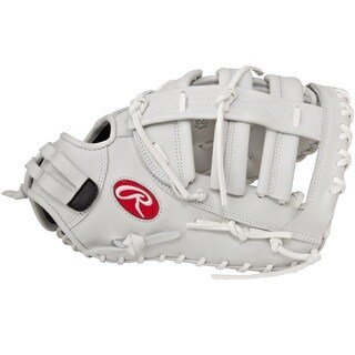 Rawlings Liberty Advanced White Leather 13-inch 1st Base Softball Mitt
