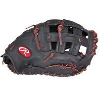 Rawlings Gamer Black Leather 12.5-inch First-bBase Softball Mitt