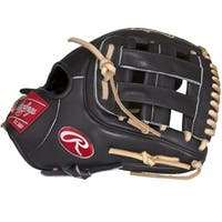 Rawlings Heart of the Hide Black Leather 11.5-inch Narrow Fit Left-handed Baseball Glove