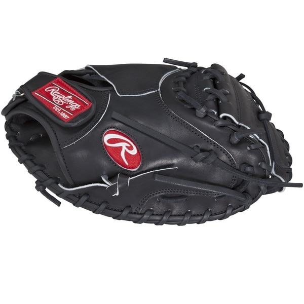 Rawlings HOH Salvador Perez Black Leather 32.5-inch Left-handed Catcher's Mitt