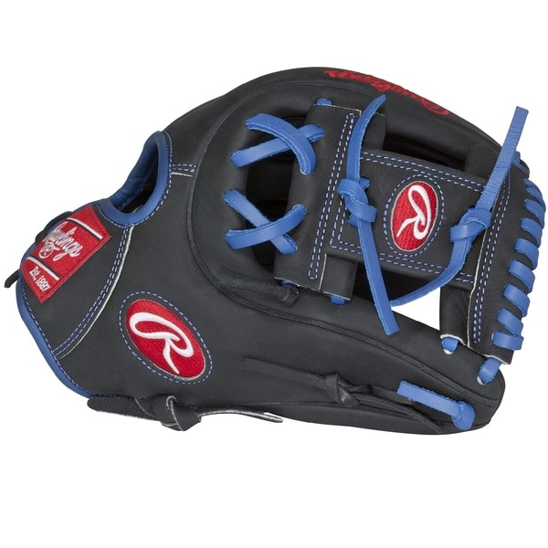 Rawlings Black Leather Dual Core 11.5-inch Narrow-fit Baseball Glove
