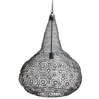 Florence Black Wire-weave D23X29.5-inch Pendant Light
