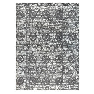 M.A.Trading Hand-woven Baltimore Charcoal/Grey (2'x3')