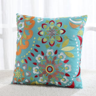 Fiesta Zoe Multicolor Cotton/Polyester Decorative Throw Pillow