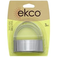 Ekco 1076604 3 Piece Biscuit Cutter