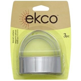 Ekco 1076604 3 Piece Biscuit Cutter