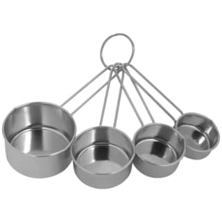 Ekco 1094604 4 Piece Stainless Steel Measuring Cup Set