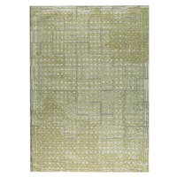 M.A.Trading Hand-woven Burbank Yellow/Beige - 8' x 10'
