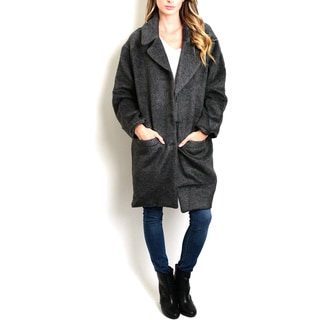 JED Women's Oversized and Heavy-lined Slouchy Coat