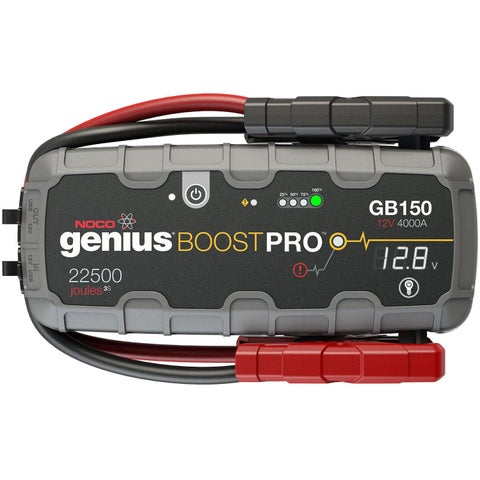 NOCO Genius GB150 Boost HD 4000A UltraSafe Lithium Battery Jump Starter Kit