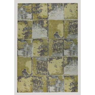 M.A.Trading Hand-woven Cleveland Gold/Grey (8'x10')