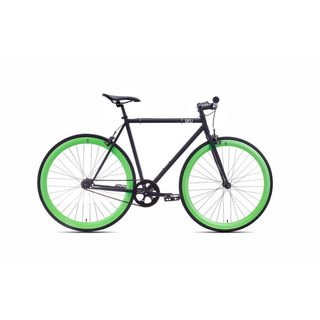 6KU Paul Unisex Black Fixed-gear Bicycle