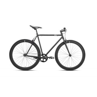 Nebula Black Steel Fixed-gear Bicycle
