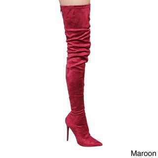 Red, High Heel Women's Boots - Shop The Best Deals For Mar 2017 ...