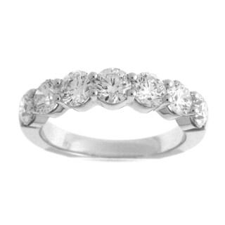 Azaro 18k White Gold 2 1/10ct TDW Diamond Fashion Band (G-H, SI1-SI2)