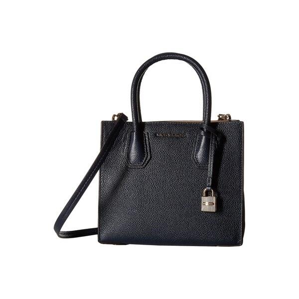 1c374c6253cb Shop Michael Kors Mercer Admiral Medium Leather Crossbody Handbag ...