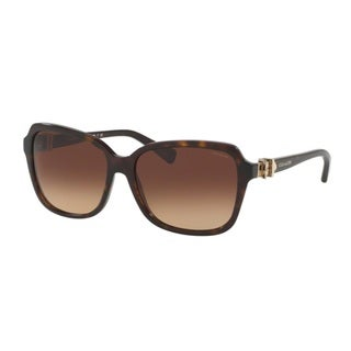 Coach HC8179 L1598 512013 Dark Tortoise Womens Plastic Square Sunglasses