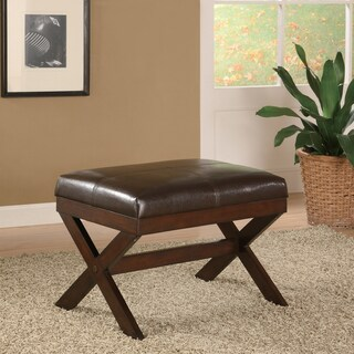 19.3-inch Bronson Brown Bench