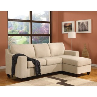 Vogue Microfiber Sectional Sofa