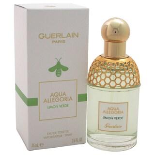 Guerlain Aqua Allegoria Limon Verde Unisex 2.5-ounce Eau de Toilette Spray